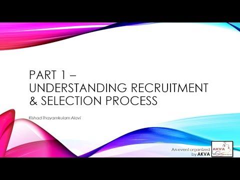 Personal Branding for Job Seekers & Career Building - Part 1 Recruitment Process HD 720