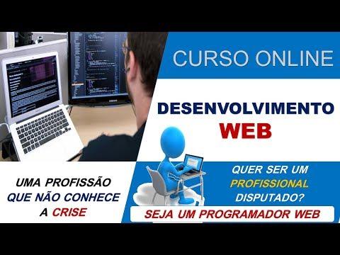 Vídeo Curso desenvolvimento web