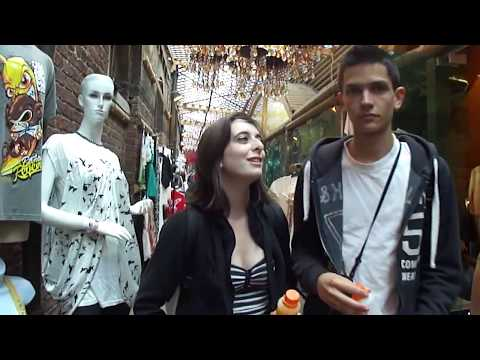 (HD) Walking around Stables and Camden Lock Market; Camden T