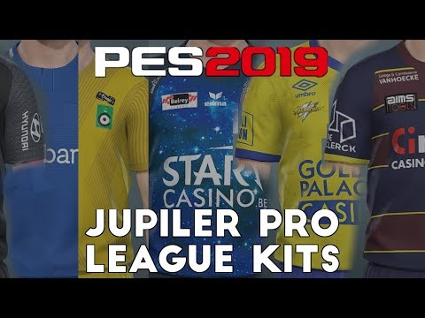 Pes 2019 Jupiler Pro League Kits And Ratings Youtube