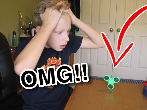 Thumbnail: FLIPPING A FIDGET SPINNER!!! INSANE IMPOSSIBLE CHALLENGE!! *Double Flip*
