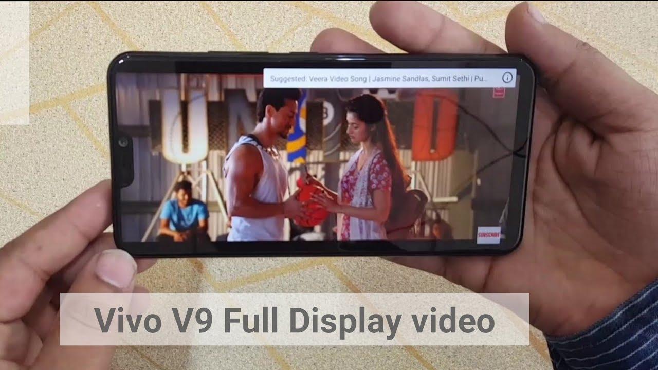 Vivo V9 Full Display Video Play