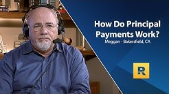 How Do Principal Payments Work on a Home Mortgage?