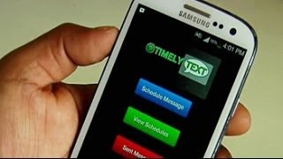 Gadget Guru takes a look at the Timely Text app