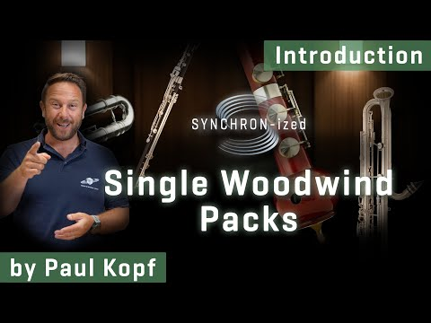 SYNCHRON-ized Single Woodwind Packs - Introduction