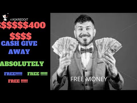$400 Cash Give Away For Subscribers ( Free Money No Strings Attached)