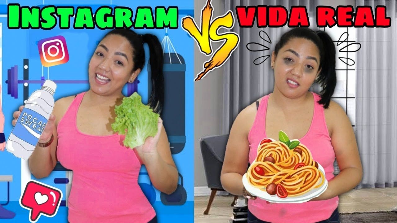 Instagram vs Vida real / Jéssica Viana