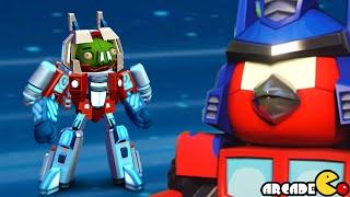 Angry Birds Transformers: Telepods Energon Starscream Auto Birds Gameplay Part 48