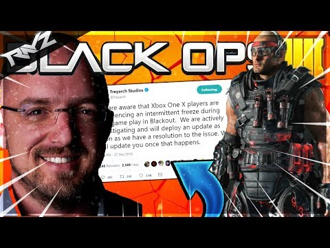 TREYARCH FINALLY RESPONDS TO BO4 BEING BROKEN ON XBOX ONE X! (Black Ops 4 Freezing Issue FIX COMING)