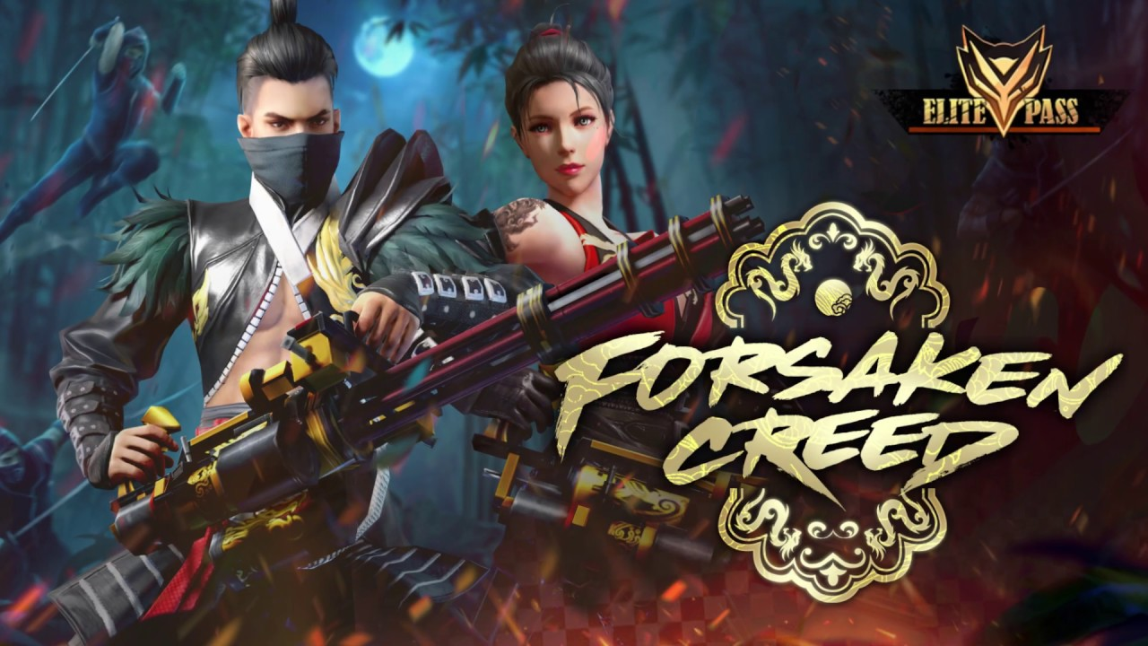 Garena Free Fire Forsaken Creed Elite Pass Rewards Detailed Ginx Esports Tv