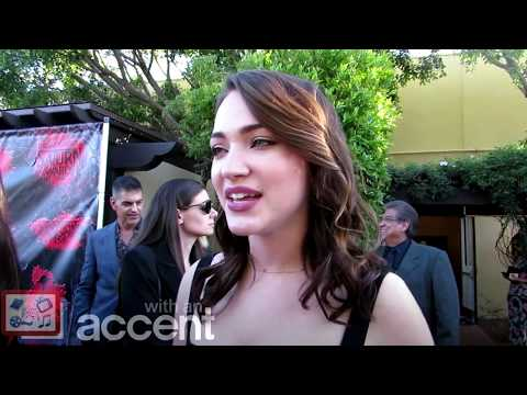 Saturn Awards 2018: Interview with Violett Beane