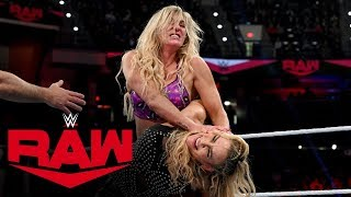 Charlotte Flair vs. Natalya: Raw, Dec. 30, 2019