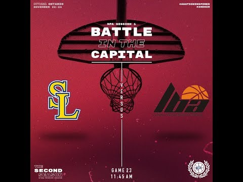 London Basketball Academy vs St Laurent Express