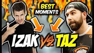 IZAK VS TAZ W PPL-u !!! FAKE DONATE OD VALVE, NIETYPOWY CLUTCH DESTROJA - CSGO BEST MOMENTS