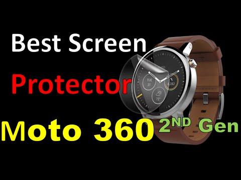THE BEST SCREEN PROTECTOR! [MOTO 360 2ND GEN]