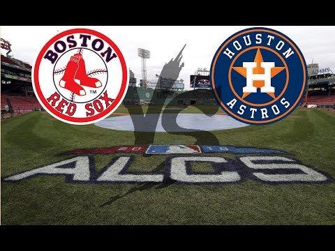 Astros VS Red Sox ALCS Game 5 | Red Sox Lead Series 3-1 MLB Postseason 2018