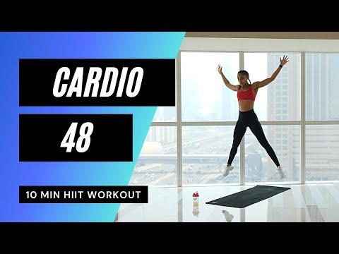 Very Sweaty Cardio HIIT Workout ➡ Anaerobic Exercise: 71