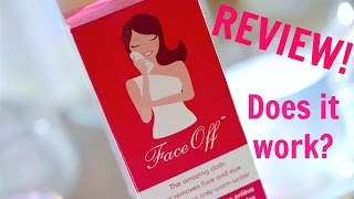 REVIEW: FaceOff Cloth | Removing Makeup With Only Water!
