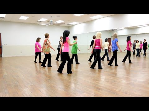 Down To The Honkytonk - Line Dance (Dance & Teach in English & 中文)