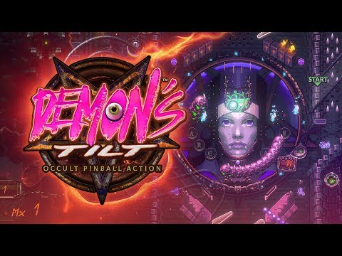 DEMON'S TILT EARLY ACCESS TRAILER! -- 2D Turbo-Charged pinball for PC & Mac on Steam Early Access!