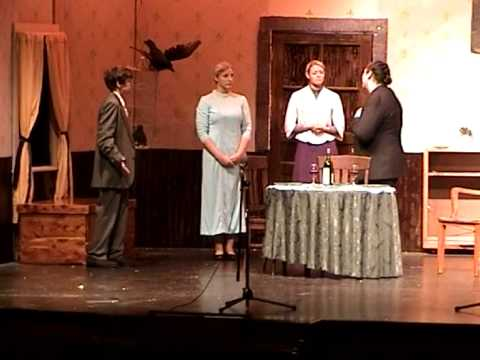 "Minneapolis High School Play ""Arsenic and Old Lace"" 11/20/2004"