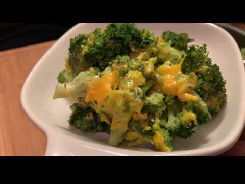 HOW TO COOK A QUICK AND SIMPLE BROCCOLI AND CHEESE