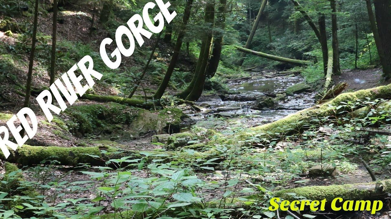 Red River Gorge Secret Camp - YouTube