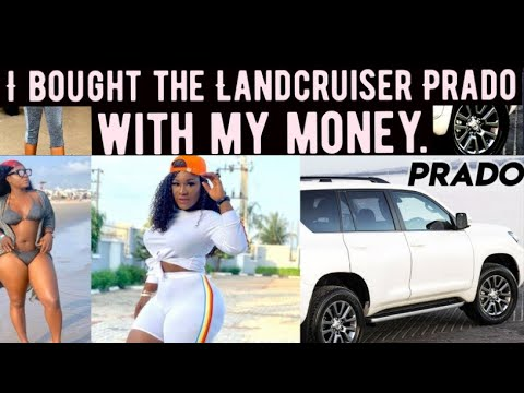 I bought the Landcruiser Prado with my money - Destiny Etiko