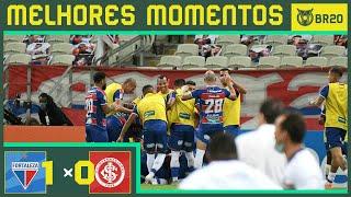 FORTALEZA 1 X 0 INTERNACIONAL - MELHORES MOMENTOS - BRASILEIRÃO (19/09/2020)