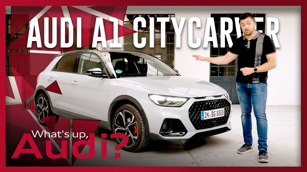 The perfect car for young people | Audi A1 citycarver | Young Audi | What's up, Audi? #33