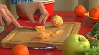 Что Есть   Салат с мандаринами и авокадо