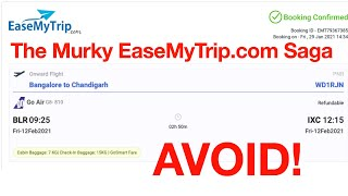 Refund Saga EaseMyTrip (Avoid EaseMyTrip??) Incorrect Refund   GoAir saves the day  Airlines Refunds
