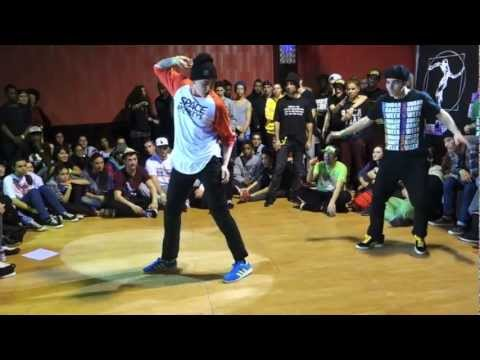 Preselection Juste Debout 2013 Spain Akim and Jeffrey (Will Funk for Food)