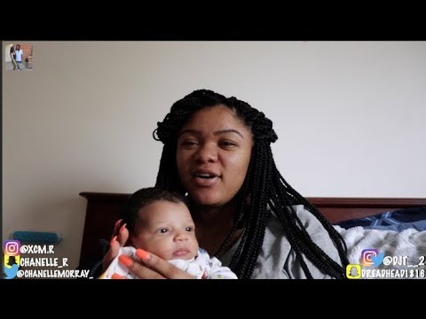 WHAT IT'S LIKE TO BE A MOM WITH A NEWBORN BABY!!! ft Baby KJ