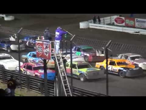 Night#2 30th Annual Fall Challenge Hobby Stock feature Southern Iowa Speedway 10/8/16