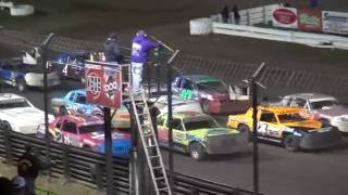 Southern Iowa Speedway Fall Challenge IMCA Hobby Stock Feature