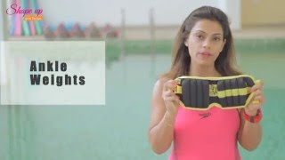 Aqua Aerobics - Kick your way to toned shapely legs with ankle weight exercises in the pool.
