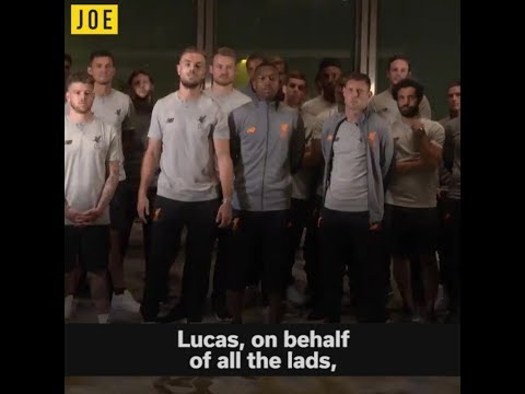 Liverpool's goodbye message to Lucas Leiva didn't go to plan. WTF James Milner...