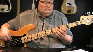 Van Halen Intruder Oh Pretty Woman Bass Cover with Notes and Tablature