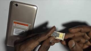 Xiaomi Redmi 4A: How to insert SIM (Micro + nano)