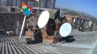 видео Настройка мотоподвеса. Подключение спутниковой антенны. Подключение спутникового ресивера. Схема подключения спутниковой антенны и мотоподвеса.
