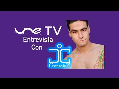 UNE TV Entrvista con JC Gonzalez Artista Colombiano