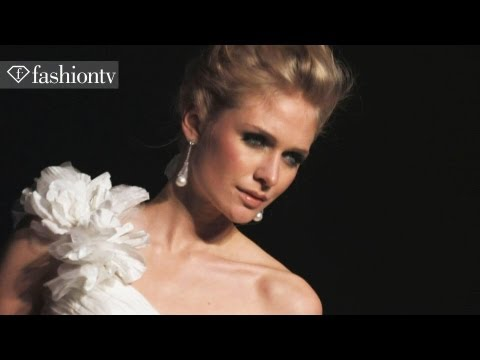 Wedding Gowns by Ian Stuart 2013 | White Gallery Bridal Collections, London | FashionTV