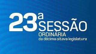 23ª Sessão Ordinária da Décima Oitava Legislatura - TV CÂMARA ITANHAÉM