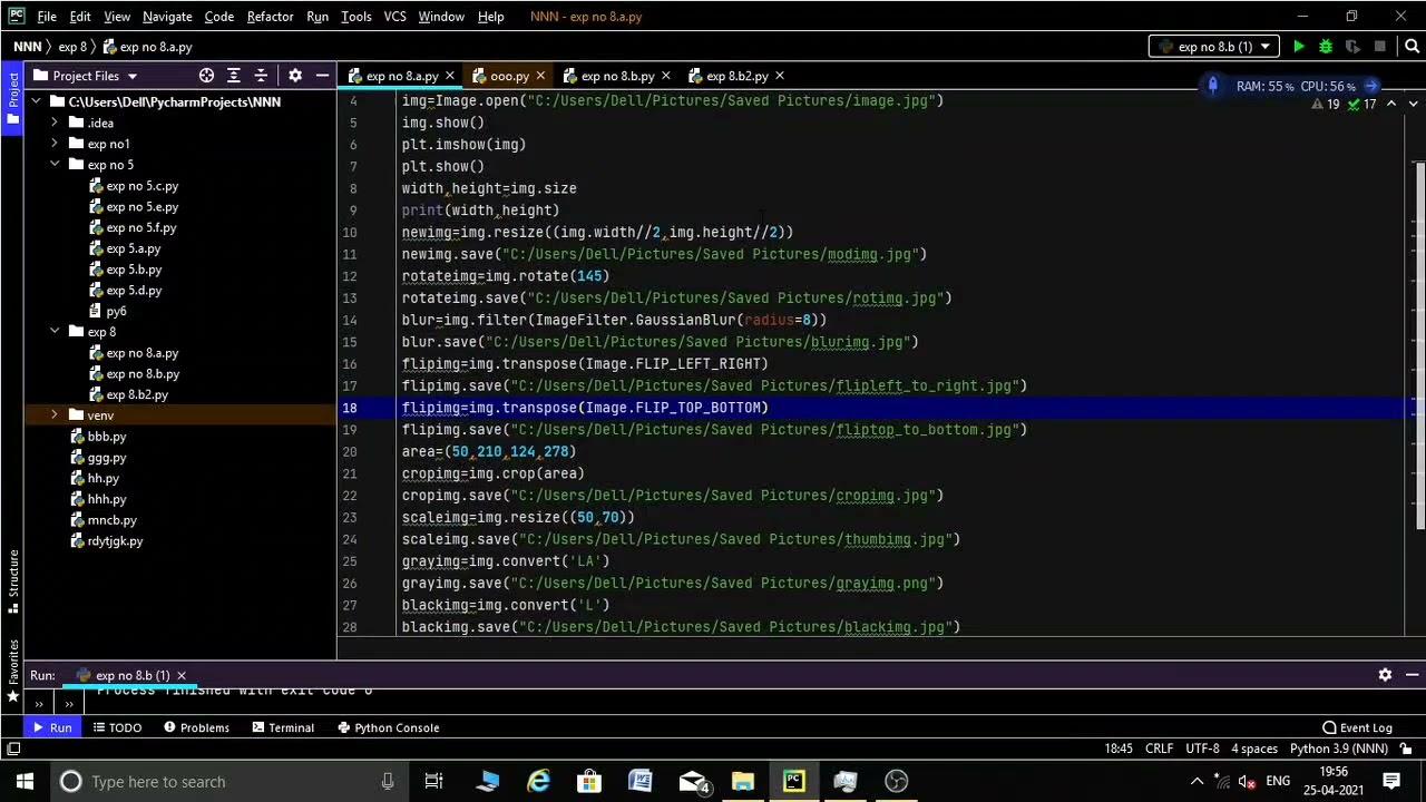 Python exp