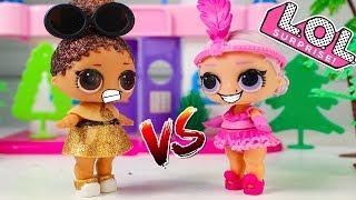 LOL Surprise Куклы ЛОЛ Квин против Вики Мультики для детей Игрушки Видео для детей