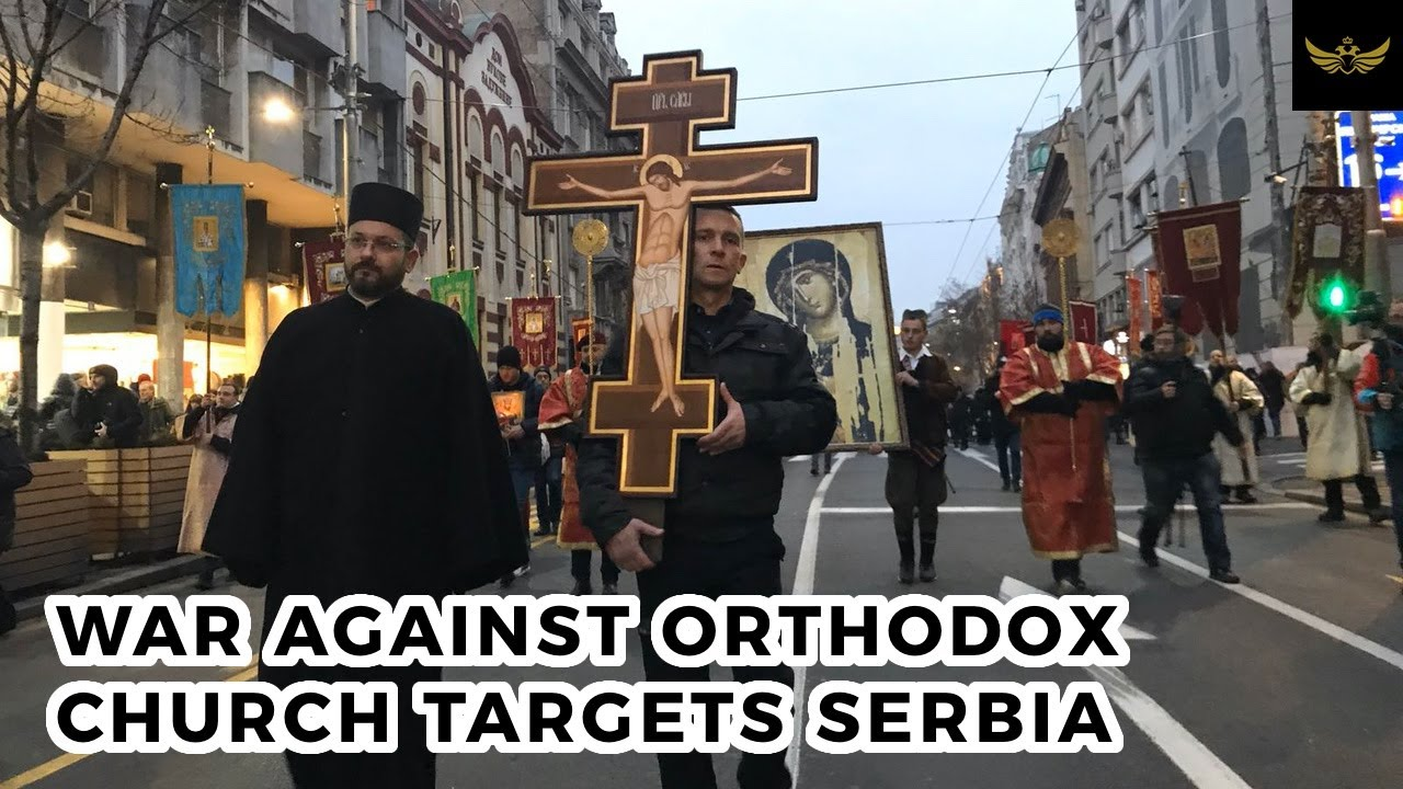 War against Orthodox Church turns towards Serbia and Montenegro