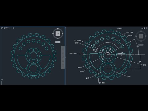 AutoCAD 2D design on cad software for beginners  2