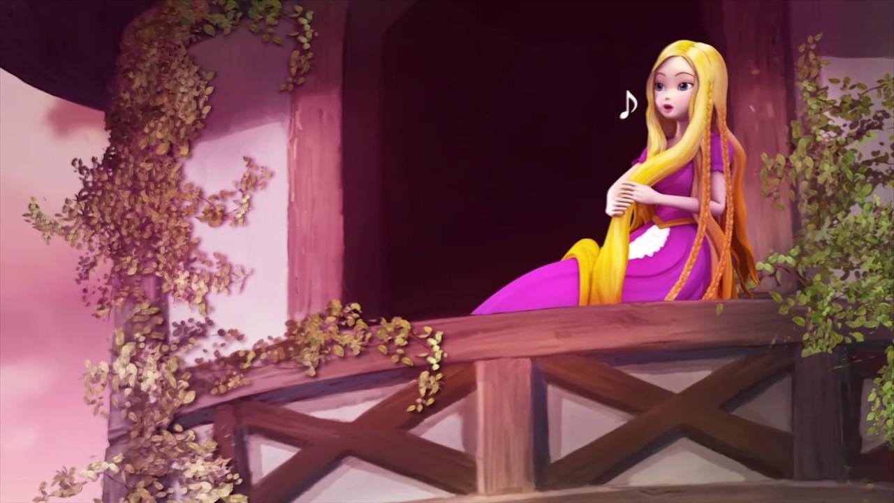 Teaser Dongeng Animasi 3d Rapunzel Youtube