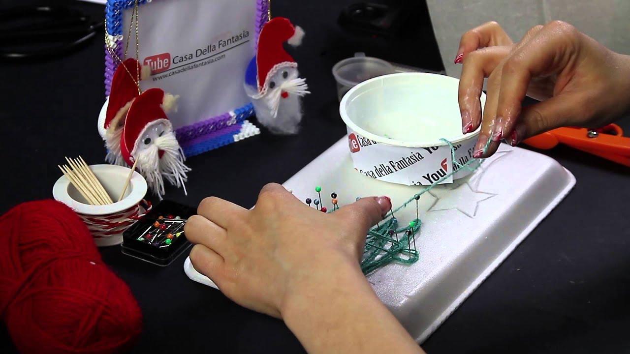 Video tutorial albero natalizio addobbi colla vinilica e for Youtube decorazioni natalizie